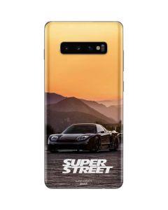 SS Hyper Car Galaxy S10 Plus Skin