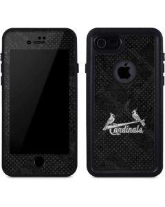 St Louis Cardinals Dark Wash iPhone 8 Waterproof Case
