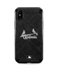 St Louis Cardinals Dark Wash iPhone X Cargo Case