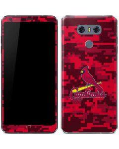 St Louis Cardinals Digi Camo LG G6 Skin