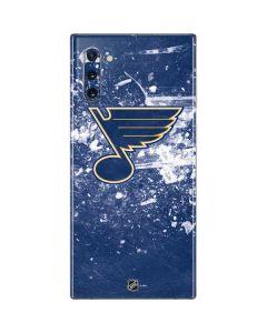 St. Louis Blues Frozen Galaxy Note 10 Skin
