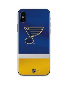 St. Louis Blues Jersey iPhone XS Skin