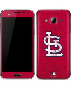 St. Louis Cardinals - Solid Distressed Galaxy J3 Skin