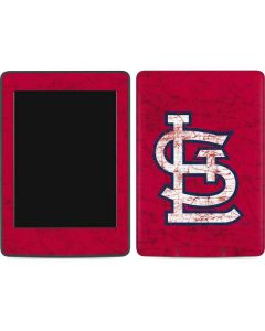 St. Louis Cardinals - Solid Distressed Amazon Kindle Skin
