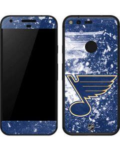 St. Louis Blues Frozen Google Pixel Skin