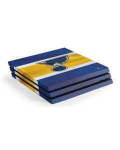 St. Louis Blues Jersey PS4 Pro Console Skin