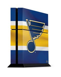 St. Louis Blues Jersey PS4 Console Skin