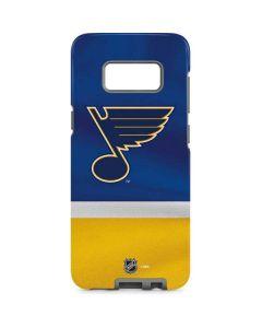 St. Louis Blues Jersey Galaxy S8 Pro Case