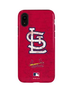St. Louis Cardinals - Solid Distressed iPhone XR Pro Case
