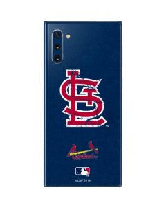 St. Louis Cardinals- Alternate Solid Distressed Galaxy Note 10 Skin