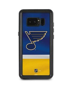 St. Louis Blues Jersey Galaxy Note 8 Waterproof Case