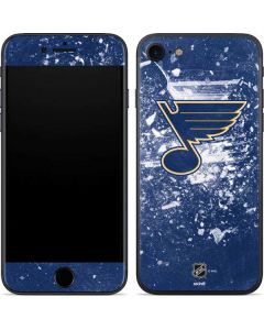 St. Louis Blues Frozen iPhone 7 Skin