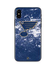 St. Louis Blues Frozen iPhone XS Skin