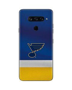 St. Louis Blues Jersey LG V40 ThinQ Skin