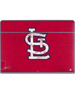 St. Louis Cardinals - Solid Distressed Galaxy Book Keyboard Folio 12in Skin