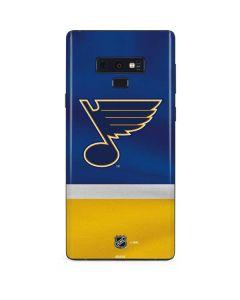 St. Louis Blues Jersey Galaxy Note 9 Skin