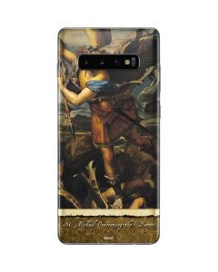 St. Michael Overcoming the Demon Galaxy S10 Plus Skin