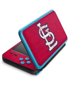 St. Louis Cardinals - Solid Distressed 2DS XL (2017) Skin