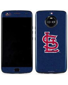 St. Louis Cardinals- Alternate Solid Distressed Moto X4 Skin