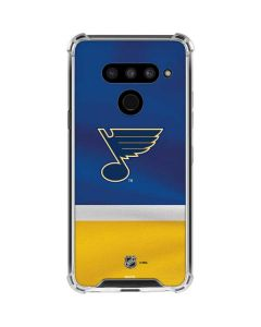 St. Louis Blues Jersey LG V50 ThinQ Clear Case