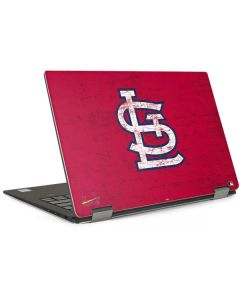 St. Louis Cardinals - Solid Distressed Dell XPS Skin