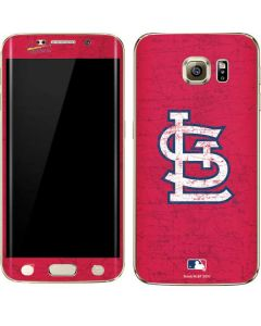 St. Louis Cardinals - Solid Distressed Galaxy S6 edge+ Skin