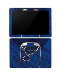 St. Louis Blues Home Jersey Surface Go Skin
