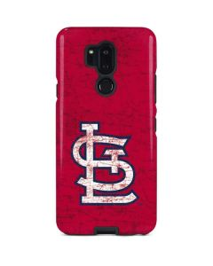 St. Louis Cardinals - Solid Distressed LG G7 ThinQ Pro Case