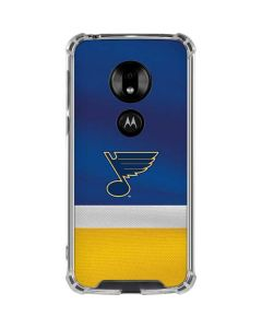 St. Louis Blues Jersey Moto G7 Play Clear Case