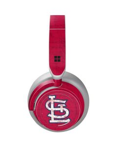 St. Louis Cardinals - Solid Distressed Surface Headphones Skin