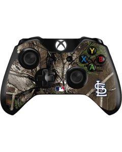 St. Louis Cardinals Realtree Xtra Green Camo Xbox One Controller Skin