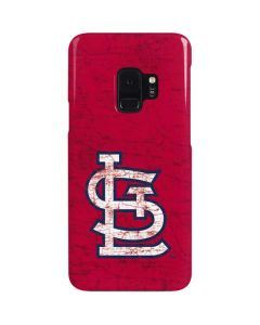 St. Louis Cardinals - Solid Distressed Galaxy S9 Lite Case