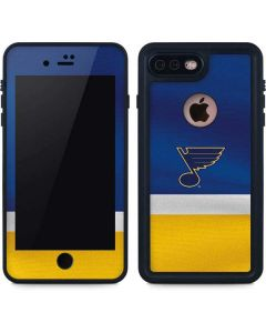 St. Louis Blues Jersey iPhone 8 Plus Waterproof Case