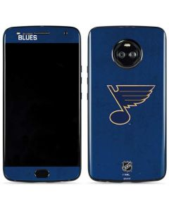 St. Louis Blues Distressed Moto X4 Skin