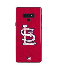 St. Louis Cardinals - Solid Distressed Galaxy Note 9 Skin