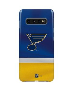 St. Louis Blues Jersey Galaxy S10 Plus Lite Case