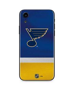 St. Louis Blues Jersey iPhone XR Skin