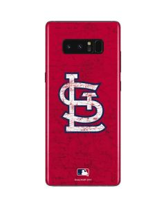St. Louis Cardinals - Solid Distressed Galaxy Note 8 Skin