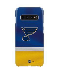 St. Louis Blues Jersey Galaxy S10 Lite Case