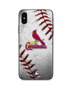 St. Louis Cardinals Game Ball iPhone XS Max Skin