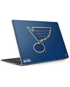 St. Louis Blues Distressed Surface Laptop 2 Skin