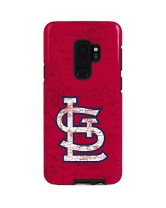 St. Louis Cardinals - Solid Distressed Galaxy S9 Plus Pro Case