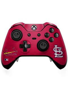 St. Louis Cardinals - Solid Distressed Xbox One Elite Controller Skin