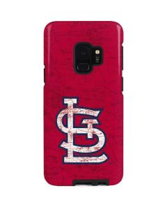 St. Louis Cardinals - Solid Distressed Galaxy S9 Pro Case