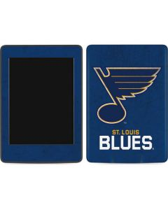 St. Louis Blues Distressed Amazon Kindle Skin