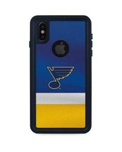 St. Louis Blues Jersey iPhone XS Waterproof Case