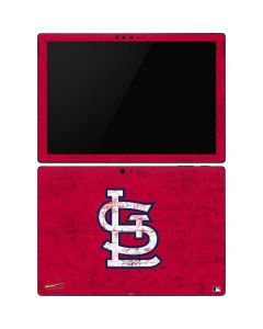 St. Louis Cardinals - Solid Distressed Surface Pro 6 Skin