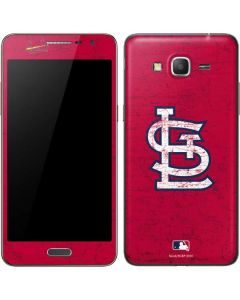 St. Louis Cardinals - Solid Distressed Galaxy Grand Prime Skin