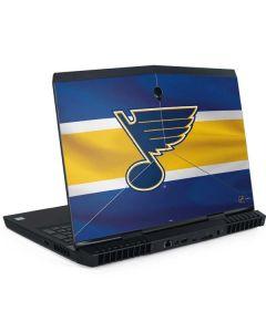 St. Louis Blues Jersey Dell Alienware Skin