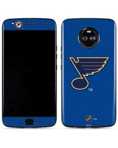 St. Louis Blues Solid Background Moto X4 Skin